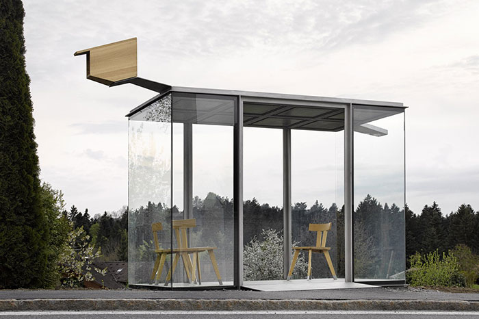 REDESIGNING MOBILITY Zwing Bus stop Radic