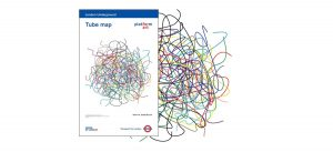DAVID SHRIGLEY'S REDESIGNED LONDON'S UNDERGROUND MAP
