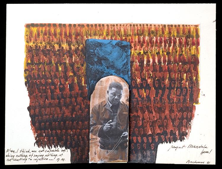 JAN BEEKMAN: Nelson MANDELA'S CALM